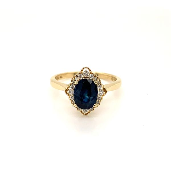Vintage Style Sapphire and Diamond Ring Martin Busch Inc. New York, NY