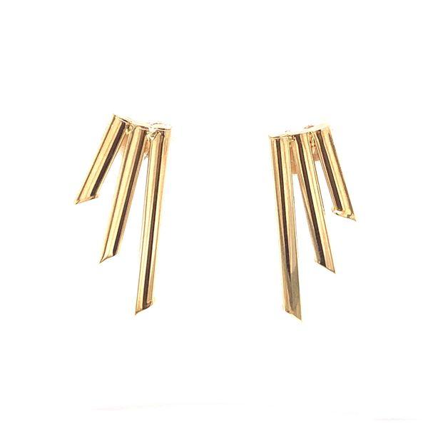 Gold Graduated Earring Martin Busch Inc. New York, NY