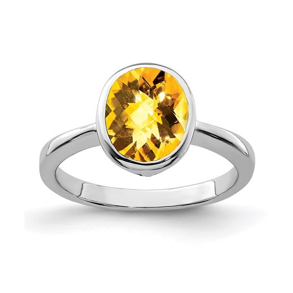 Sterling Silver Citrine Ring Martin Busch Inc. New York, NY