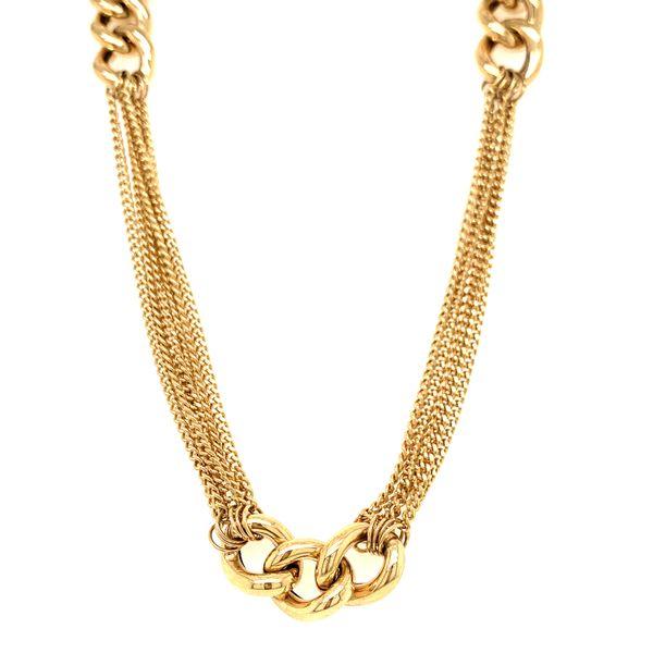 Multi Strand Gold Chain Martin Busch Inc. New York, NY
