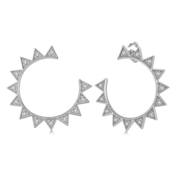 Sunbright Diamond Earrings Martin Busch Inc. New York, NY