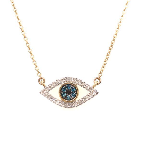Evil Eye Necklace Martin Busch Inc. New York, NY