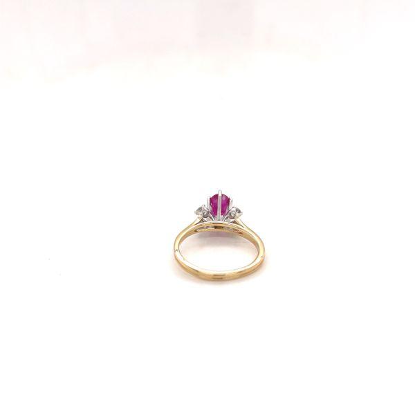 Vintage Ruby & Diamond Ring Image 3 Martin Busch Inc. New York, NY
