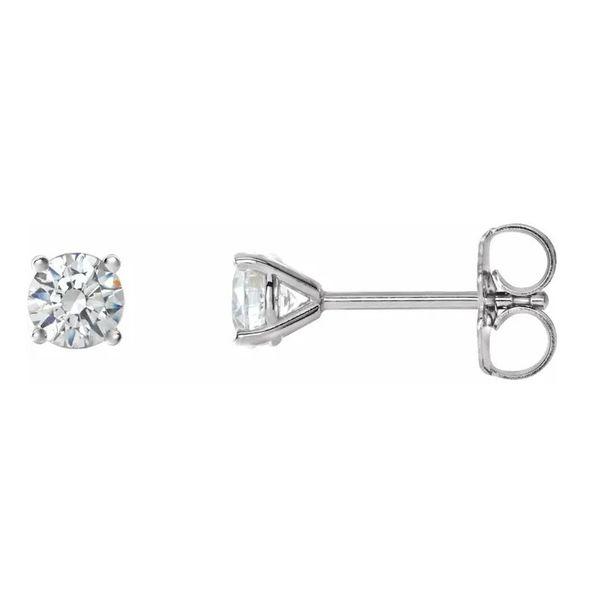 1 ctw Diamond Stud Earrings  Martin Busch Inc. New York, NY