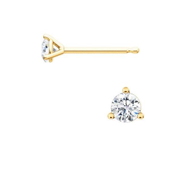 18K Single Diamond Stud Earring Martin Busch Inc. New York, NY