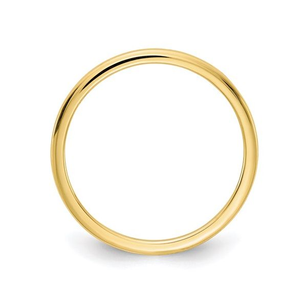Yellow Gold 1.2MM Stackable Band Image 2 Martin Busch Inc. New York, NY