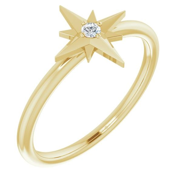 Starburst Diamond Ring Image 2 Martin Busch Inc. New York, NY