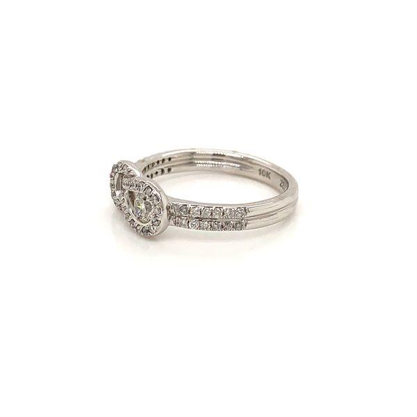 Diamond Love Knot Ring Image 2 Martin Busch Inc. New York, NY