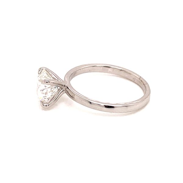 Solitaire Diamond Engagement Ring Image 2 Martin Busch Inc. New York, NY