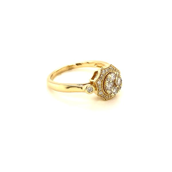 Vintage Style Diamond Ring Image 2 Martin Busch Inc. New York, NY