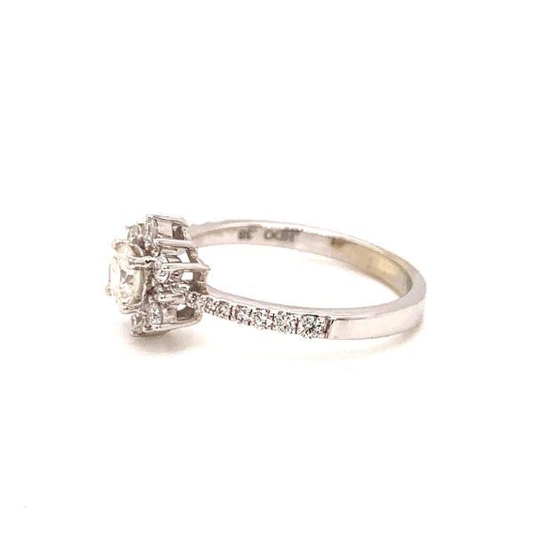 Halo Diamond Engagement Ring Image 2 Martin Busch Inc. New York, NY