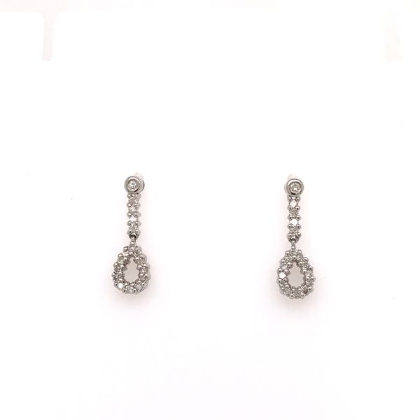 Diamond Drop Earrings Martin Busch Inc. New York, NY
