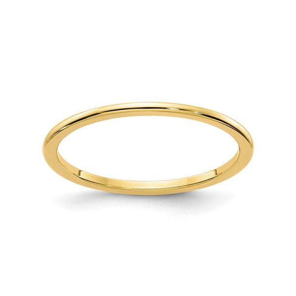 Yellow Gold 1.2MM Stackable Band Martin Busch Inc. New York, NY