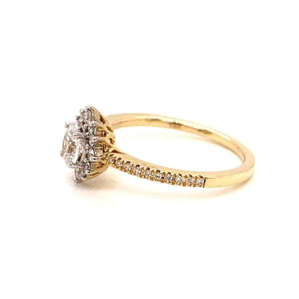 Oval Halo Engagement Ring Image 2 Martin Busch Inc. New York, NY