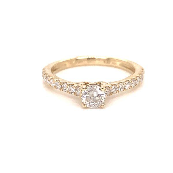 Prong Set Diamond Engagement Ring Martin Busch Inc. New York, NY