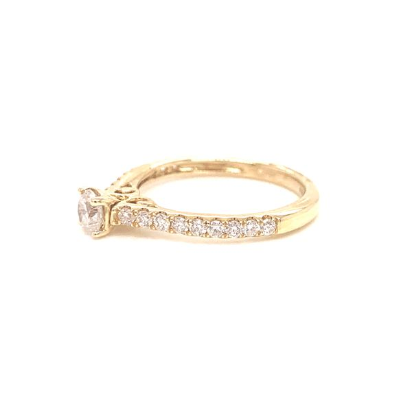 Prong Set Diamond Engagement Ring Image 2 Martin Busch Inc. New York, NY