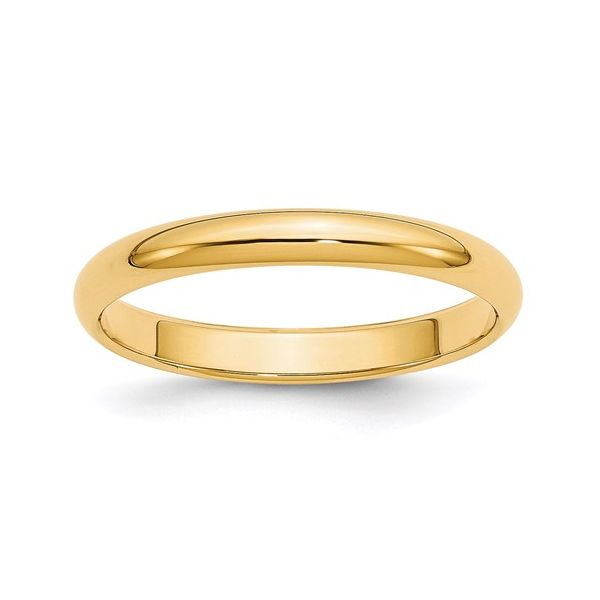 3MM Gold Wedding Band Martin Busch Inc. New York, NY