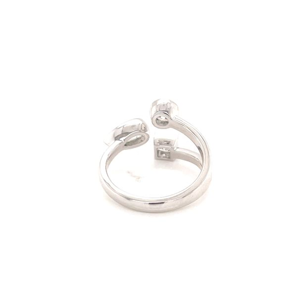 14K Mixed Diamond 3 Stone Ring Image 3 Martin Busch Inc. New York, NY