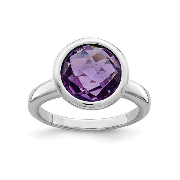 Sterling Silver Amethyst Ring Martin Busch Inc. New York, NY