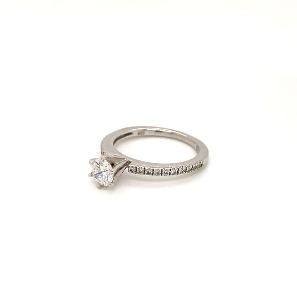 Round Diamond Engagement Ring Image 2 Martin Busch Inc. New York, NY