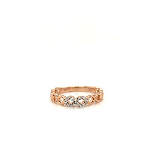 Infinity Diamond Ring Martin Busch Inc. New York, NY