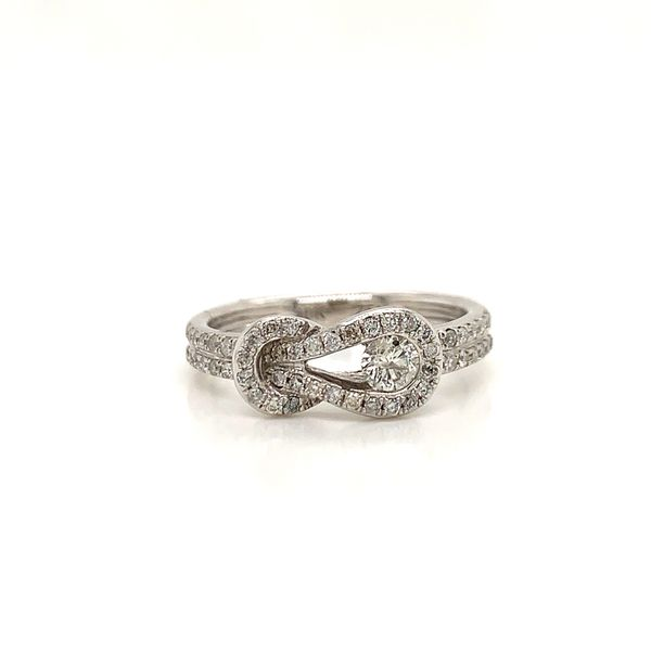 Diamond Love Knot Ring Martin Busch Inc. New York, NY