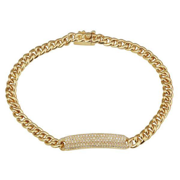 Pave Diamond Curb Bracelet  Martin Busch Inc. New York, NY