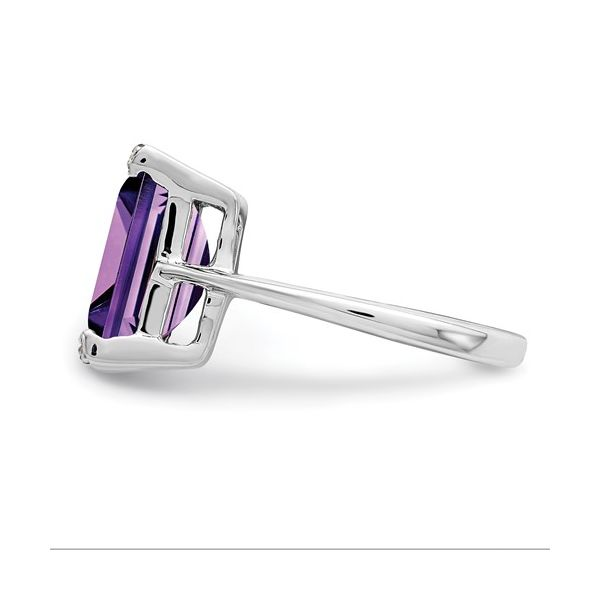 Sterling Silver Amethyst Ring Image 4 Martin Busch Inc. New York, NY