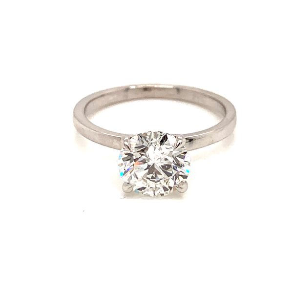 Solitaire Diamond Engagement Ring Image 3 Martin Busch Inc. New York, NY