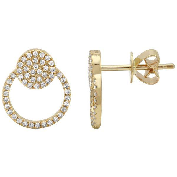 Diamond Door Knocker Earrings Martin Busch Inc. New York, NY