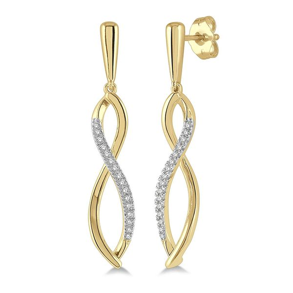 Twisted Drop Earrings Martin Busch Inc. New York, NY