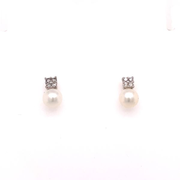 Pearl and Diamond Earring Martin Busch Inc. New York, NY
