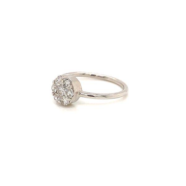 Cluster Diamond Ring Image 2 Martin Busch Inc. New York, NY