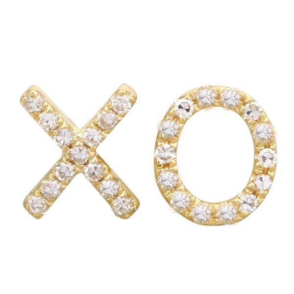 X & O Diamond Earrings Martin Busch Inc. New York, NY