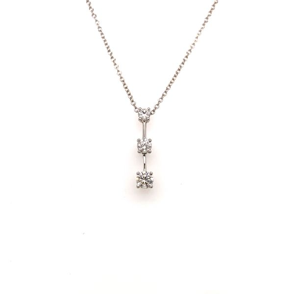 3 Stone Diamond Pendant Martin Busch Inc. New York, NY