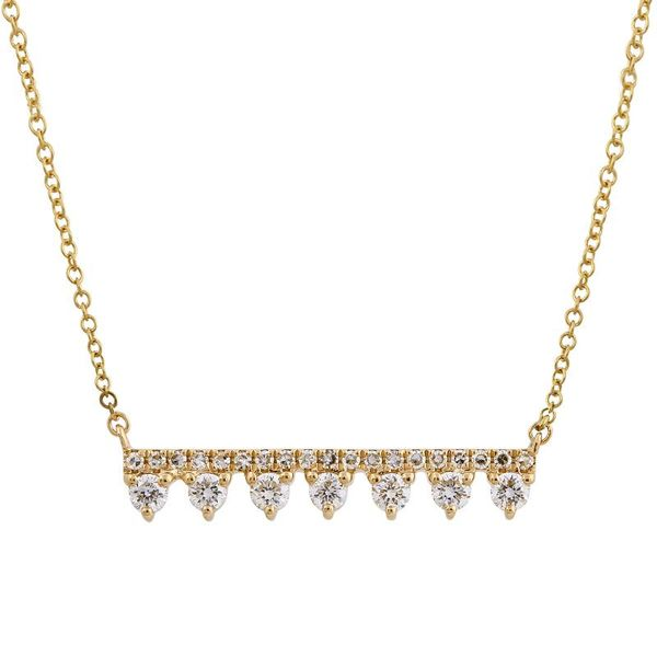 Gold and Diamond Crown Pendant Martin Busch Inc. New York, NY