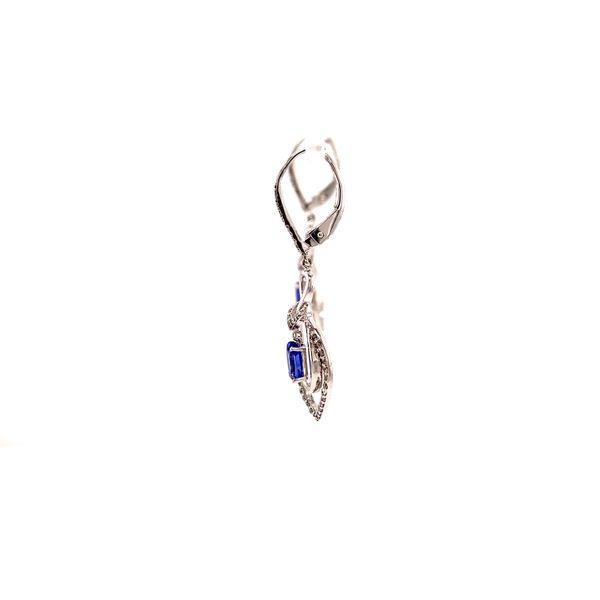 Tanzanite Drop Earrings Image 2 Martin Busch Inc. New York, NY
