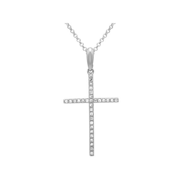 Diamond Cross Necklace Martin Busch Inc. New York, NY