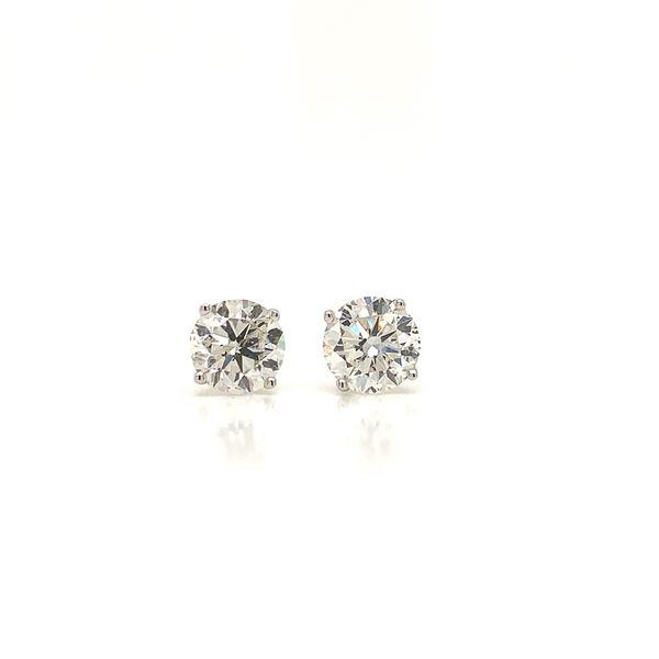 2.06ct Diamond Stud Earrings Martin Busch Inc. New York, NY