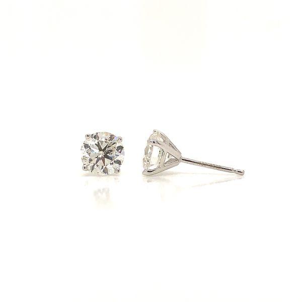 2.06ct Diamond Stud Earrings Image 2 Martin Busch Inc. New York, NY