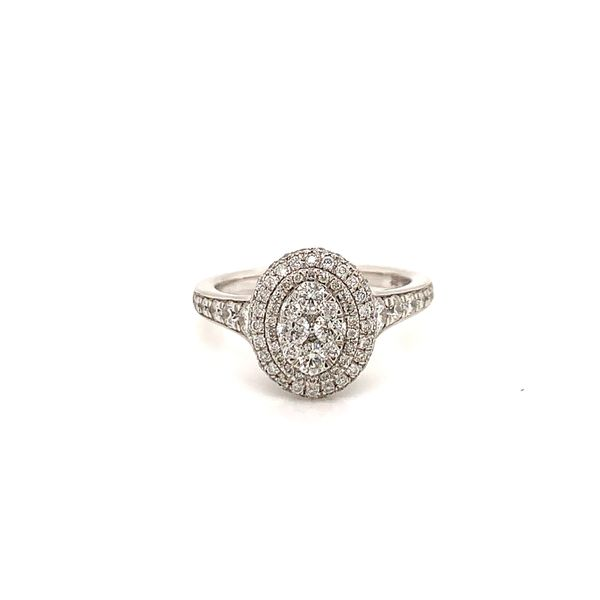 Round Diamond Cluster Ring Martin Busch Inc. New York, NY