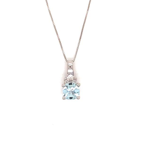 Aquamarine and Diamond Pendant Martin Busch Inc. New York, NY