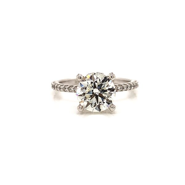 2 Carat Engagement Ring  Martin Busch Inc. New York, NY