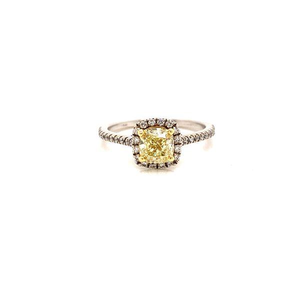 Yellow Diamond Engagement Ring Martin Busch Inc. New York, NY