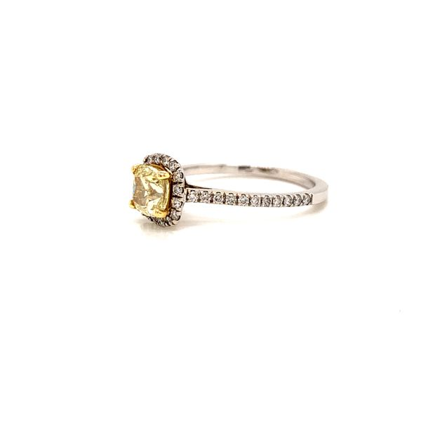 Yellow Diamond Engagement Ring Image 2 Martin Busch Inc. New York, NY