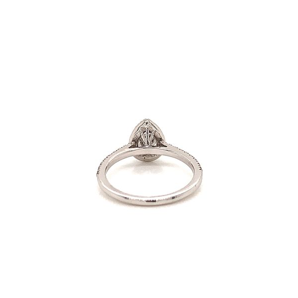 Pear Halo Engagement Ring  Image 3 Martin Busch Inc. New York, NY