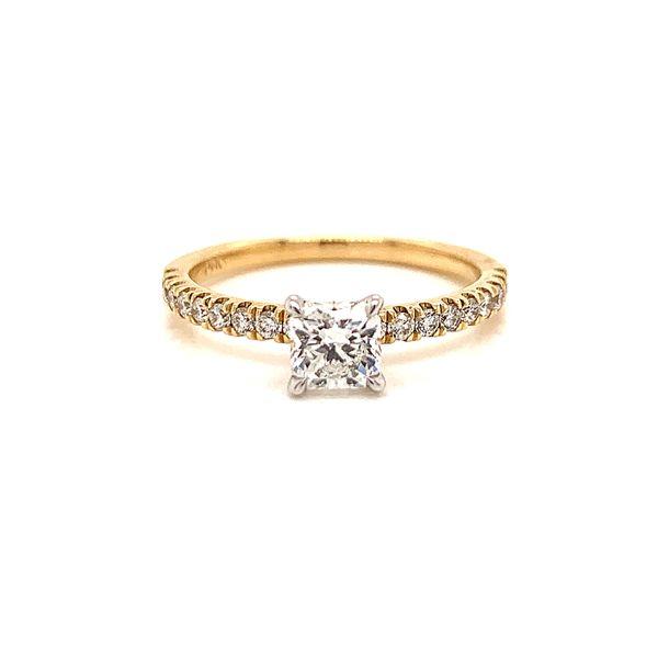 Radiant Diamond Engagement Ring  Martin Busch Inc. New York, NY