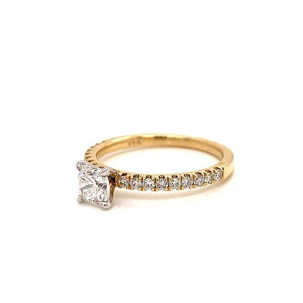 Radiant Diamond Engagement Ring  Image 2 Martin Busch Inc. New York, NY