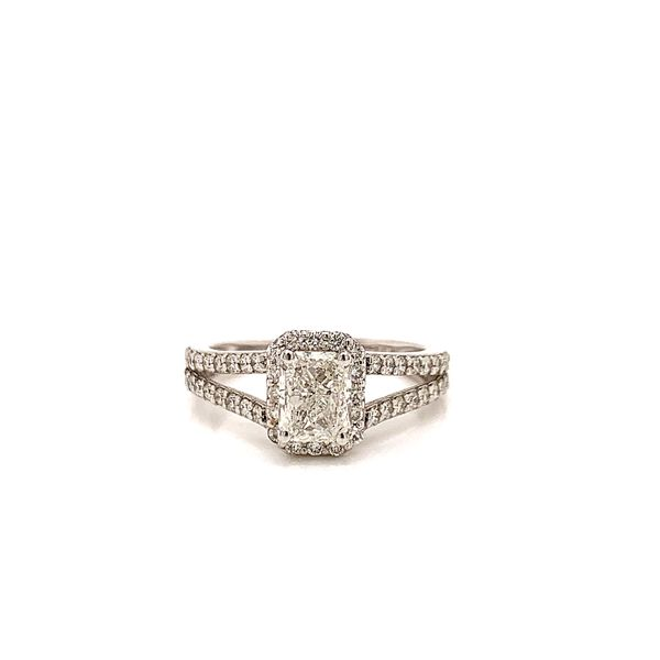 Halo Engagement Ring  Martin Busch Inc. New York, NY