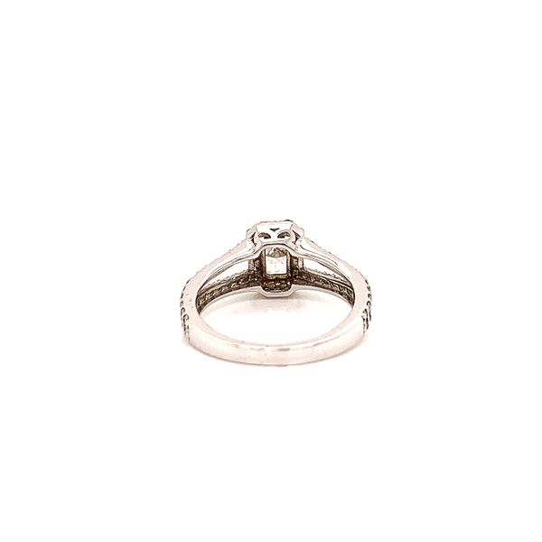 Halo Engagement Ring  Image 3 Martin Busch Inc. New York, NY